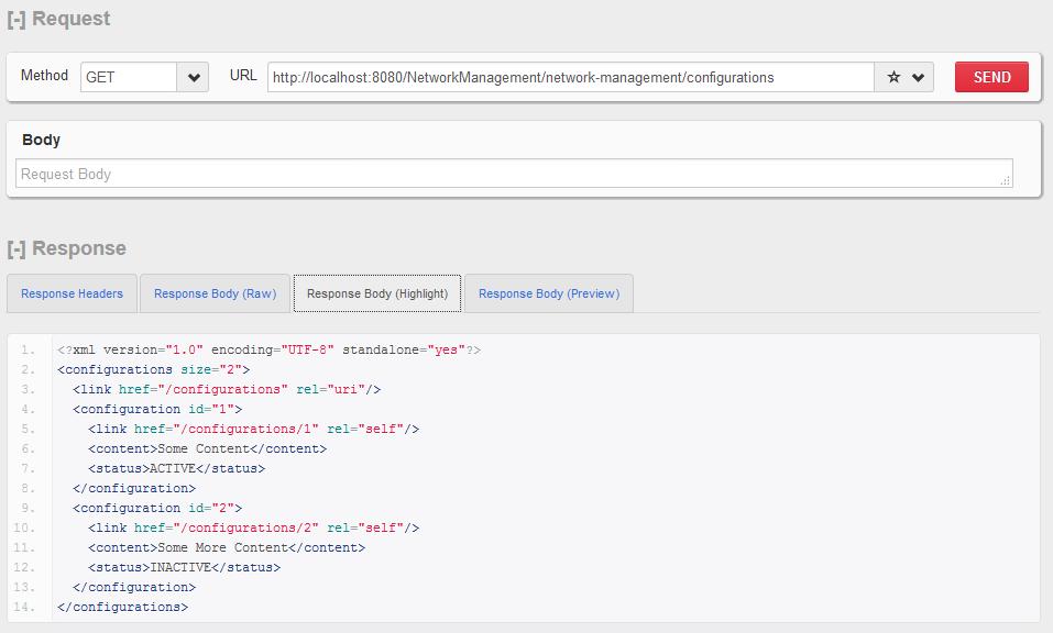 HTTP GET  - 配置集合资源