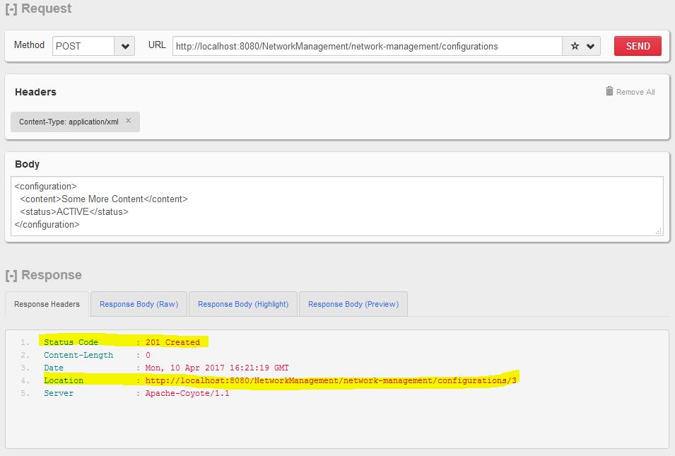 HTTP POST  - 创建新资源